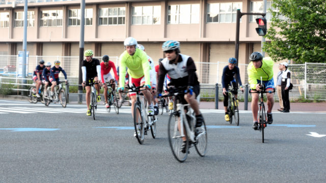 2019エリート大会出場選手のバイクコース試走