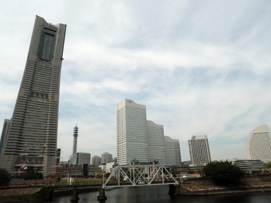 北仲橋から見たみなとみらい