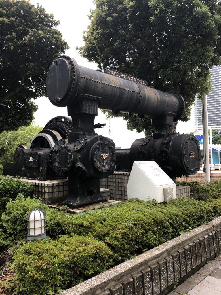 横浜船渠株式会社 エアー・コンプレッサー