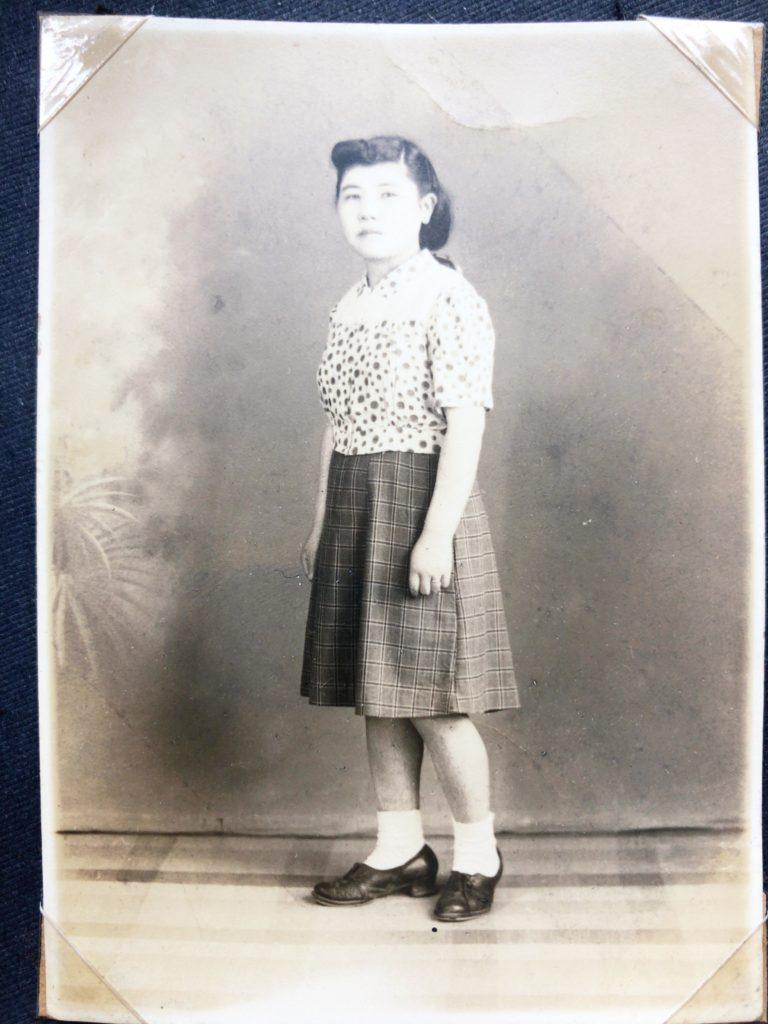 母保子の若い頃